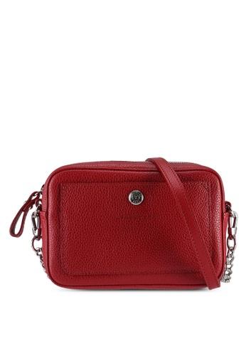 LONGCHAMP red Le Foulonné Crossbody Bag (zt) 09A05ACA3CFB3FGS_1