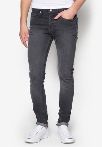 彈性貼身牛仔褲, 服飾, 牛仔zalora時尚購物網評價褲
