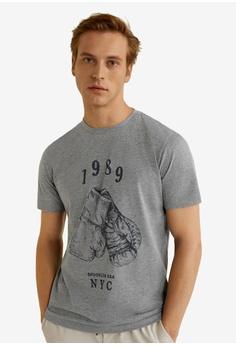 573a459ac Buy MANGO Man Men Graphic T-Shirts Online | ZALORA Malaysia