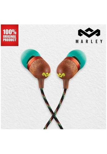 Marley multi Earphone Wired Original Marley Smile Jamaica - Rasta BDC06ES3C7408AGS_1