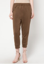 WISHFUL brown Forest B Pants WI930AA09YUKID_1