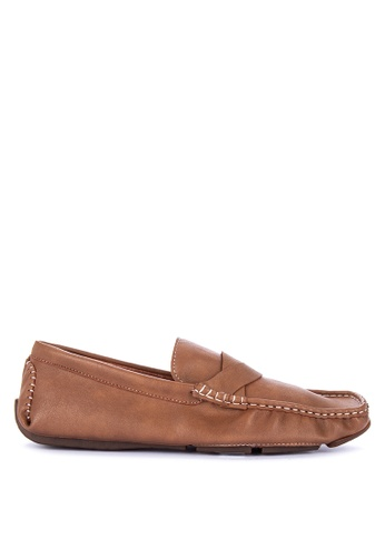 Mendrez brown Arjan Loafers 4CA3BSHAD0F181GS_1
