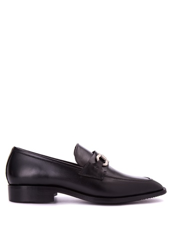 Bristol Shoes black Leandro Black Loafer BR842SH0JID4PH_1