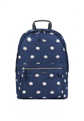 Cath Kidston blue Pom Pom Spot Aster Backpack ECD60AC752EB09GS_1