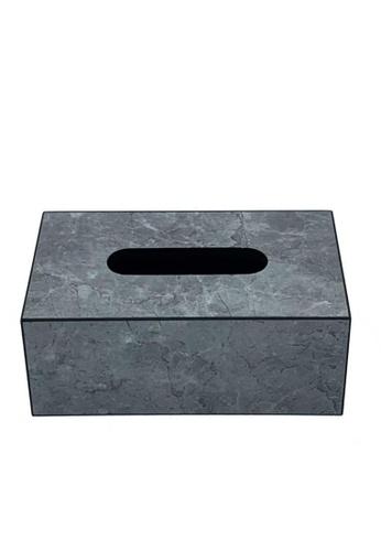 Maison Curio Devon Tissue Box Ash D9F2DHLD0E6E47GS_1