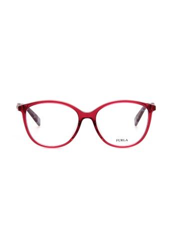 Furla Furla VFU029 Pink Eyeglasses  FU454AC0RAMIMY_1