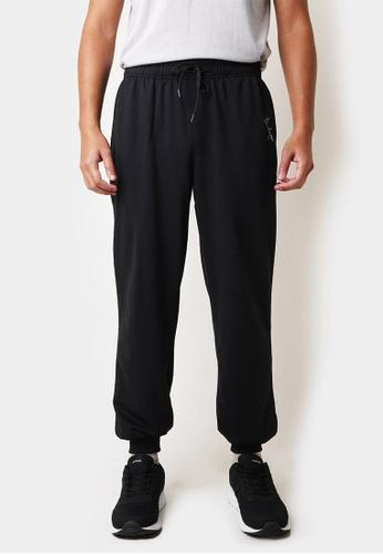 Penshoppe black Track Pant with Pen Scribble 0527FAAFB4C3B0GS_1