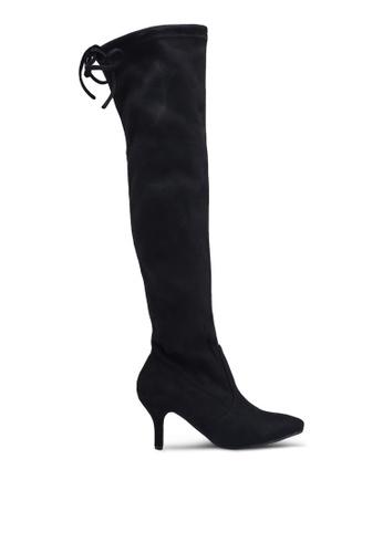 25267b350e0 Shop Twenty Eight Shoes Skinny Over Knee High Heel Long Boots Online on  ZALORA Philippines
