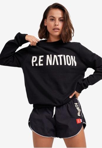 P.E Nation black Fortify Sweatshirt 42CF5AA3517D3FGS_1