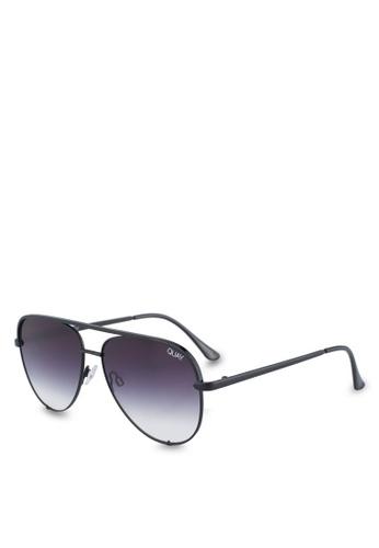 Quay Australia black HIGH KEY MINI Sunglasses BEA22GL6BCBA00GS_1