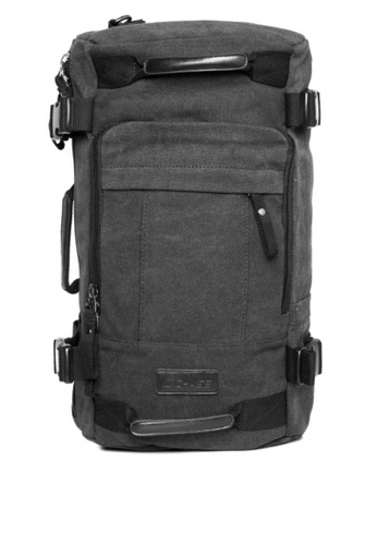 Chase Fashion black Andy Canvas Laptop Duffle Backpack CH547AC0K9P3PH_1