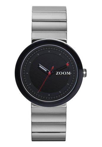 Zoom black and silver Casual Men's Watches ZM 3786M.1502 152AAAC7DABA6BGS_1
