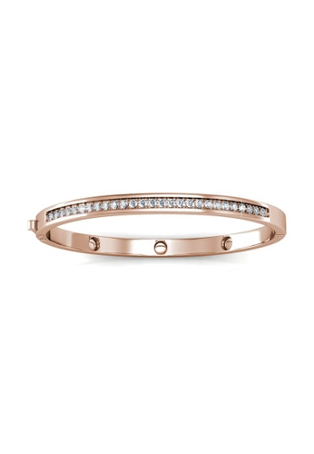 Her Jewellery gold Her Jewellery Classic Bangle (Rose Gold) (18K Rose Gold Plated) Her Jewellery HE210AC97KHESG_1