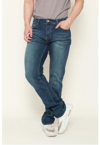 DENIZEN blue Denizen Regular-Straight Cut Jeans E935BAAD27E978GS_1
