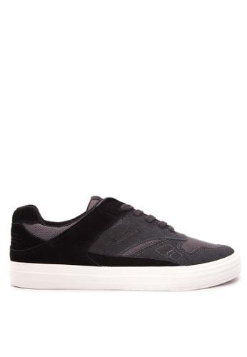 SONNIX grey Tribute - Vulc Men's Lace Up Sneaker Shoes SO490SH16WCXPH_1