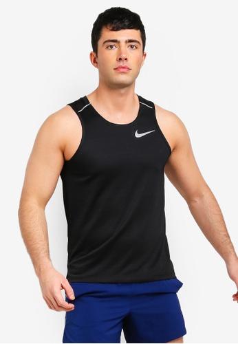 As Men's Nike Dry Miler Tank Top