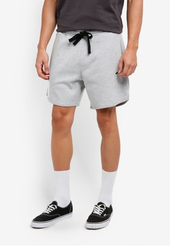 Cotton On grey Coar Performance Double Knit Shorts 2699AAA117568AGS_1
