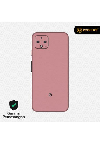 Exacoat Google Pixel 4 Skins Blush Pink - Cut Only 04357ESF4607AAGS_1