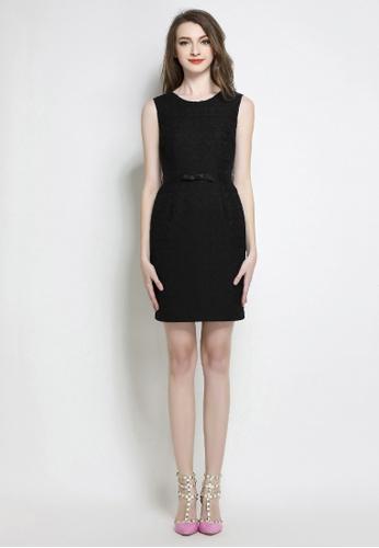 Sunnydaysweety black Collectibles New Simple Slim Dress S20050875 3762CAA6426C65GS_1