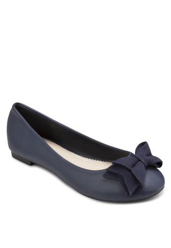 Georgia 蝴蝶結基本款平底esprit 衣服鞋, 女鞋, 芭蕾平底鞋