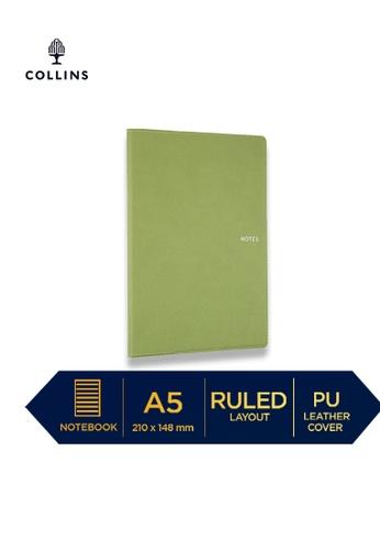 Collins green Collins Metropolitan Melbourne  ─  Notebook A5 Ruled Green DD51AHL8ECAECFGS_1