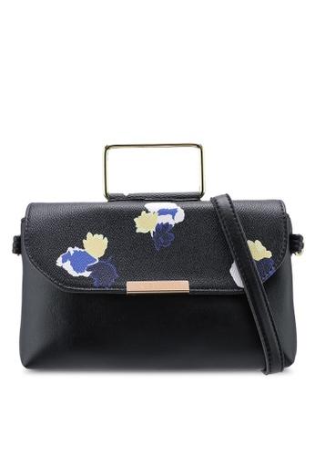 Verchini black Verchini Premium Top Handle Sling Bag CFAB6AC61DD445GS_1