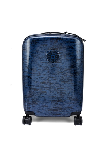 Kipling blue and navy CURIOSITY S Wheeled Luggage A6C5FAC4DD51C6GS_1