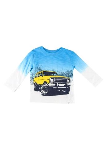 GAP blue Toddler Dip-Dye Graphic T-Shirt 1A626KA76285F8GS_1