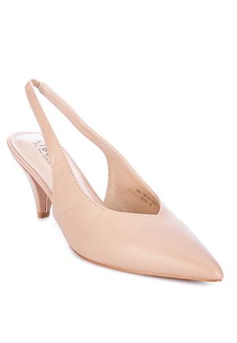 Alberto beige Slingback heeled shoes 7CA11SHC6A3B66GS_1