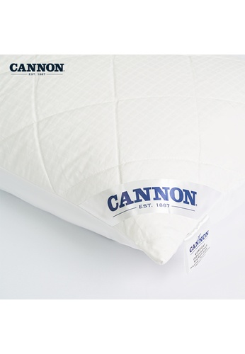 CANNON white CANNON Comfort Indulgence Pillow Protector. 895DEHL8884354GS_1