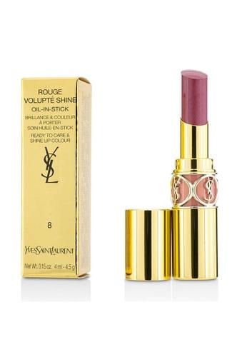 Yves Saint Laurent YVES SAINT LAURENT - Rouge Volupte Shine - # 8 Pink In Confidence/ Pink Blouson 4.5g/0.15oz 1F10FBE7FD7EFAGS_1