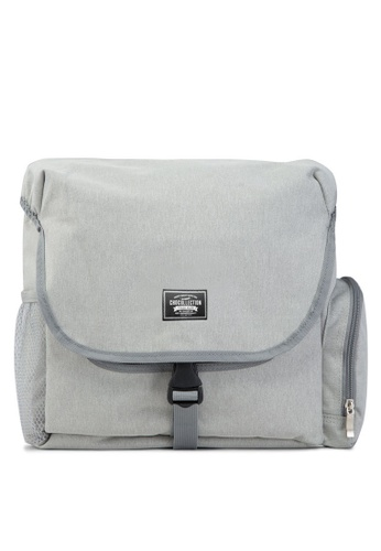 Chocollection grey Shutter DSLR Camera Bag AD63AACA447F18GS_1