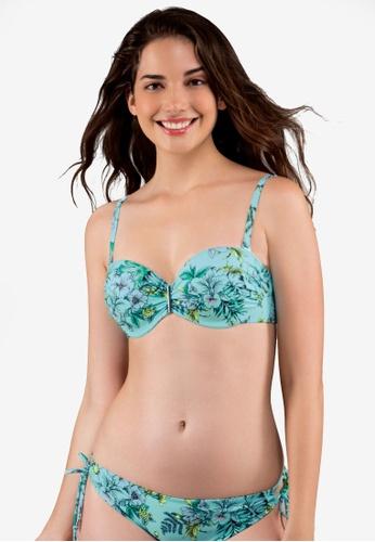 Dorina blue Sea Breeze Soft Bandeau Bikini Top DB08FUS3454A25GS_1