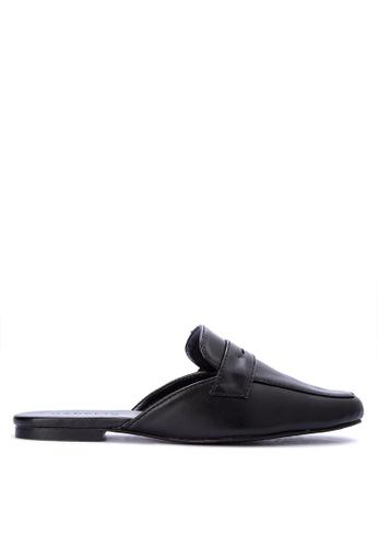 new concept 4c32e 1c6c0 ... Janylin black man made leather mule loafers 0147CSH4448DA6GS1  authorized site 0dc34 887fb ...