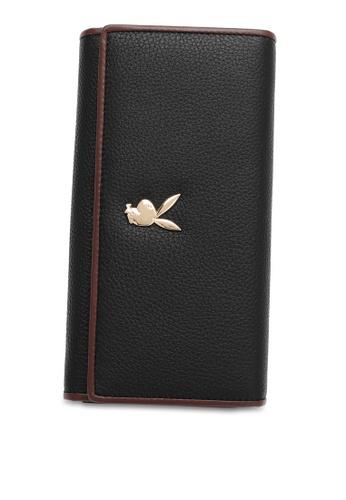 PLAYBOY BUNNY black RFID Tri-fold Purse C4142AC7F0347CGS_1