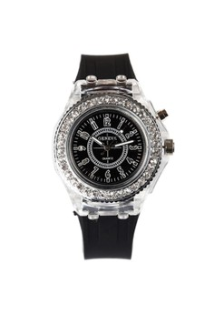 Bluetooth MS-1 Luminous Rhinestone Couple Silica Gel Electronic Watch