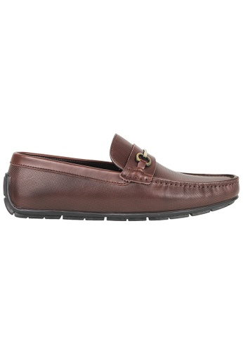 Tomaz brown Tomaz C376 Buckle Moccasins (Coffee) 8FB1FSH3157913GS_1