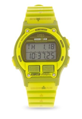 TIMEX green Ironman 8Lap Digital Watch 1C532ACEEAC957GS_1