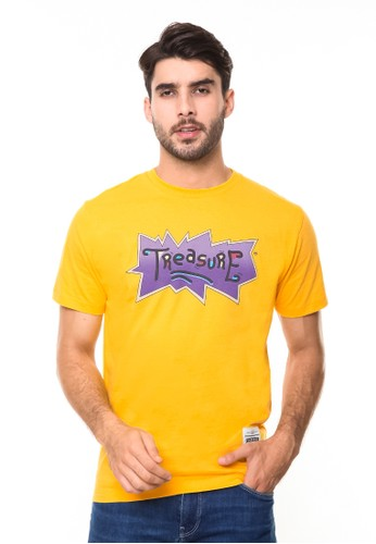 Endorse yellow Tshirt syn treasure yellow END-RE007 11C1FAA2F7B7EEGS_1