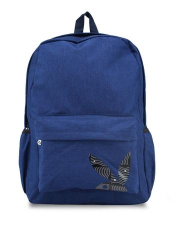 Playboy blue Playboy Backpack 6CA51ACB6E3019GS_1