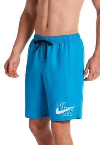 "Nike blue Nike Logo Lap 9"" Volley Short F4A1EUSF59C482GS_1"