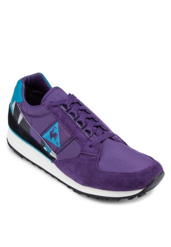 Le Coq Sportif purple Eclat 90 Graphic Sneakers LE751SH27TDSMY_1