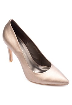 Metallic Pointed Heels
