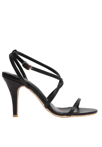 Twenty Eight Shoes black Strappy Heel Sandals VS1910 TW446SH90DKZHK_1