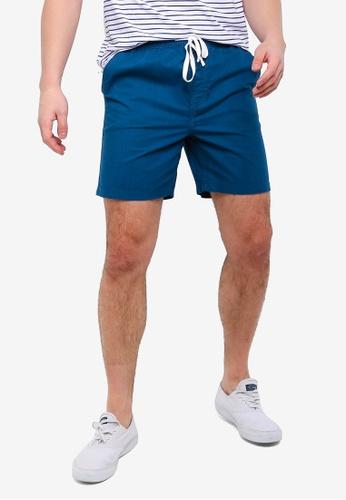 Cotton On 藍色 抽繩短褲 AC716AA8D9091DGS_1