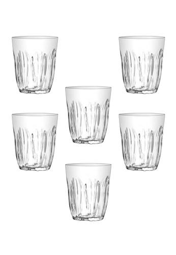 Union Glass n/a Thailand Premium Clear Glass Rock Glass Water, Juice, Soda, Liquor Glass 220ml - 8oz Set of 6 555CAHL8E9BA89GS_1
