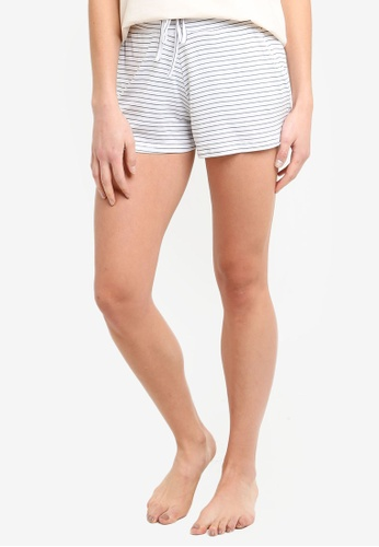 Cotton On Body white Sleep Recovery Shorts 88665AA2944D4DGS_1