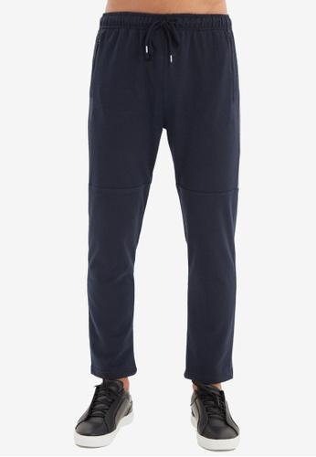 Trendyol navy Navy Jogger Pants 8D68CAAAFDA017GS_1