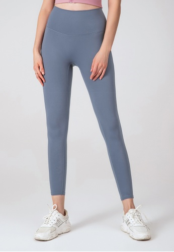 HAPPY FRIDAYS Nude Yoga Cropped Tights (No front crotch  line) DSG524 76477AA13C386FGS_1