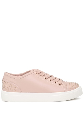 London Rag 米褐色 钉钉装饰休闲鞋 SH1717 FE963SH757F53CGS_1